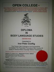 Kinesics Diploma