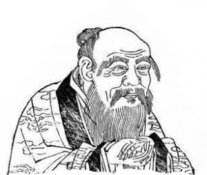 Lau Tzu B&W
