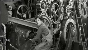Spanner in Chaplin's works