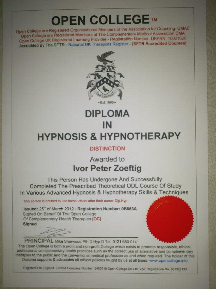 Performance in English | NLP/Hypnotherapy