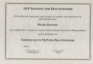 NLP Practitioner 1