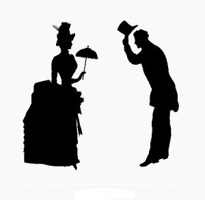 gentleman-and-lady-black-and-white-silhouette