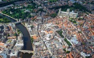 York aerial